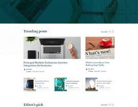 #29 for Create wordpress page on avada theme from .PSD provided - mobile version as well. by BeeDock