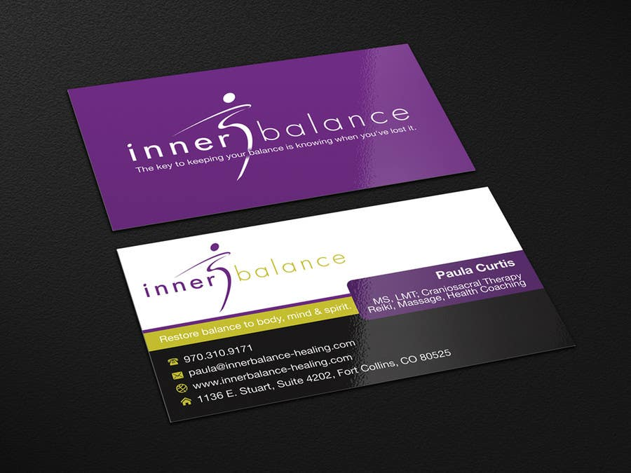 Contest Entry #                                        23                                      for                                         Design Some Business Cards for Therapeutic Massage Practice