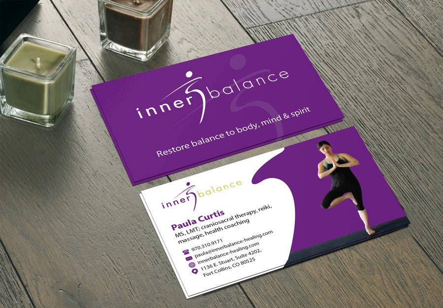 Contest Entry #                                        15                                      for                                         Design Some Business Cards for Therapeutic Massage Practice