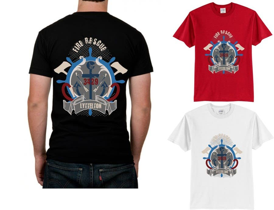 Contest Entry #                                        8                                      for                                         Design a T-Shirt for  Fire fighters