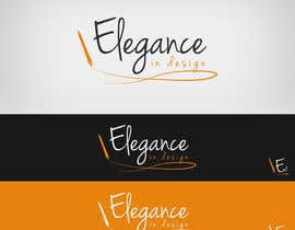 #52 para Design a Logo for Elegance in Design, LLC por Lozenger