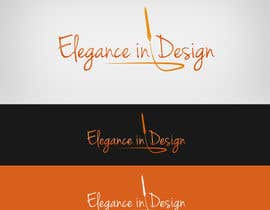 #56 para Design a Logo for Elegance in Design, LLC por Lozenger