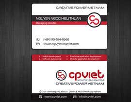 #185 para Design some Business Cards for CPVIET por ivegotlost