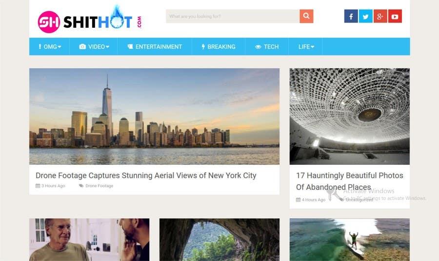 Konkurrenceindlæg #51 for Design a Logo for shithot.com