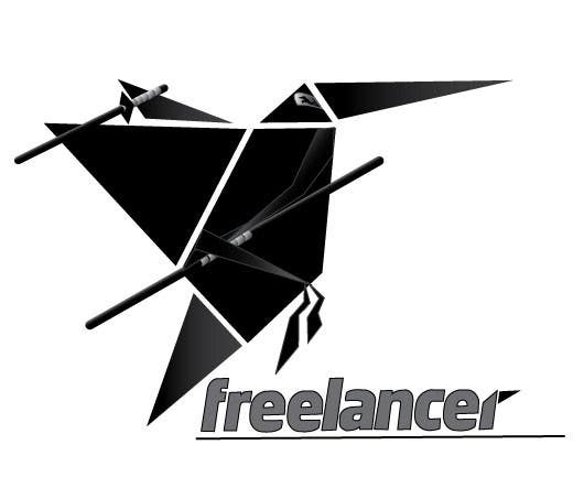 Contest Entry #150 for Turn the Freelancer.com origami bird into a ninja !