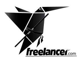 #148 untuk Turn the Freelancer.com origami bird into a ninja ! oleh sfoster2
