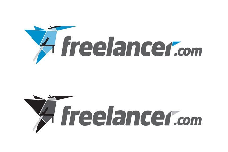 Contest Entry #75 for Turn the Freelancer.com origami bird into a ninja !