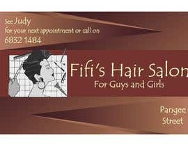 #36 untuk Design some Business Cards for hair dressing salon oleh Shrey0017