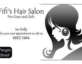 #39 untuk Design some Business Cards for hair dressing salon oleh Shrey0017