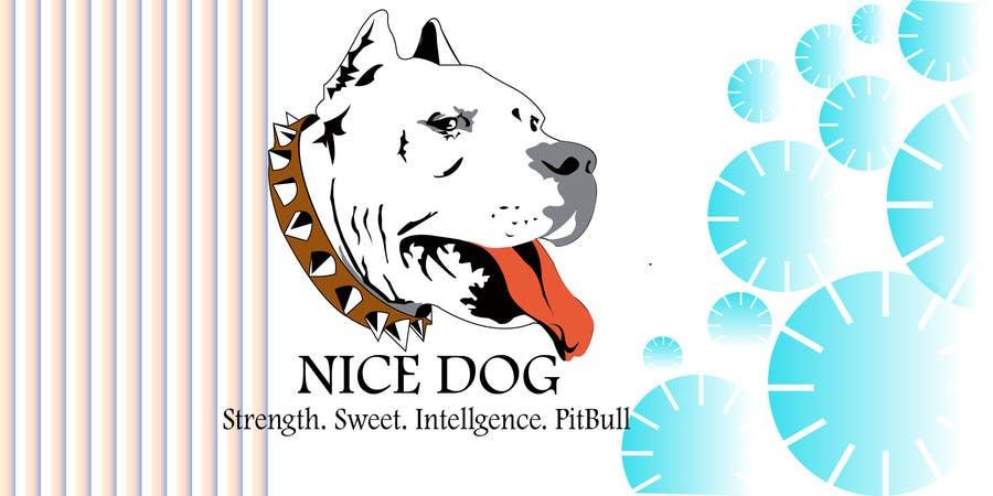Kilpailutyö #34 kilpailussa Logo image for Pit Bull dog brand