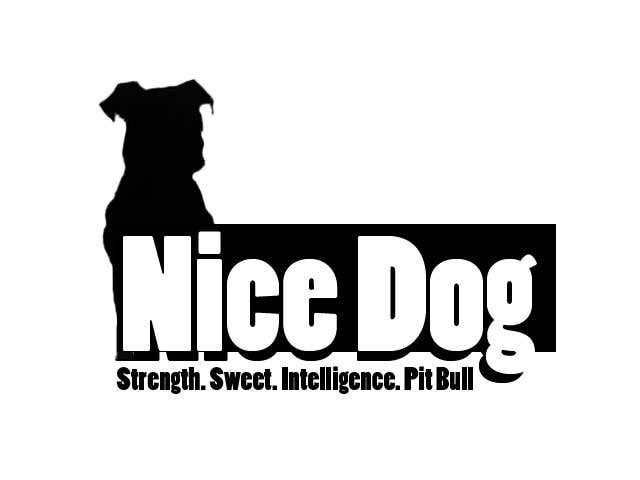 Kilpailutyö #3 kilpailussa Logo image for Pit Bull dog brand