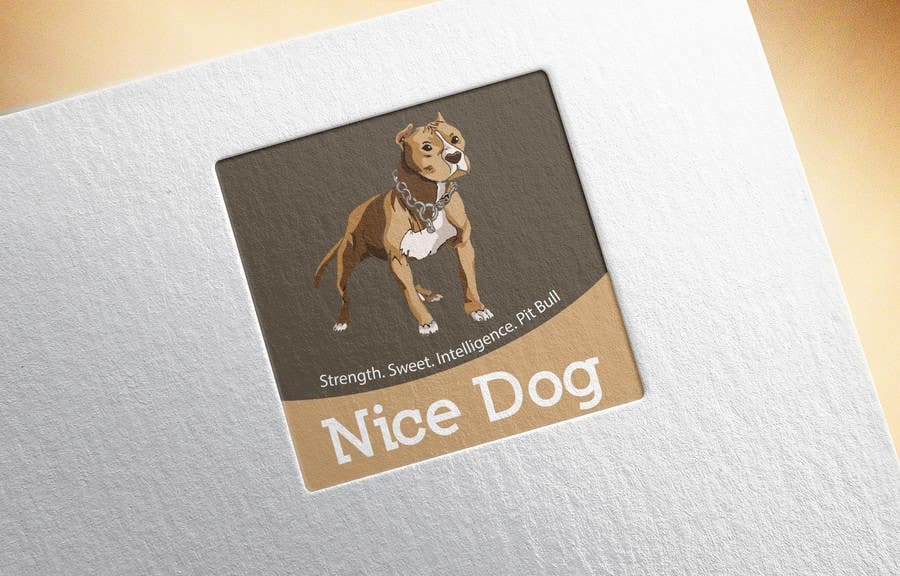 Proposition n°20 du concours Logo image for Pit Bull dog brand