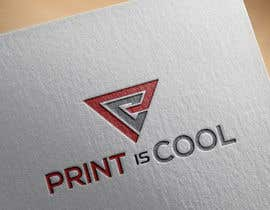 "#60 cho Logo for a blog ""print is cool"" bởi starlogo01"