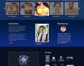 #27 untuk Design a Website Mockup for aesthetic surgery oleh webmastersud