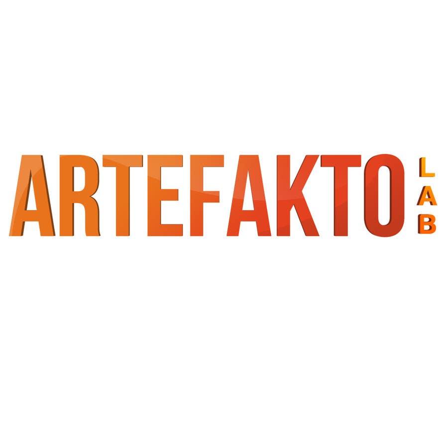 Konkurrenceindlæg #2 for Logo for ArteFakto Lab