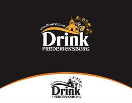 #50 untuk Design a Logo for Drink Fredericksburg, an entertainment website oleh whizzdesign