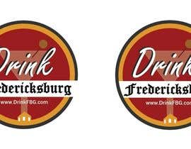#125 untuk Design a Logo for Drink Fredericksburg, an entertainment website oleh jackmillen92