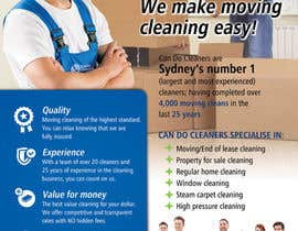 #28 for Design a flyer for a house cleaning company af ssergioacl