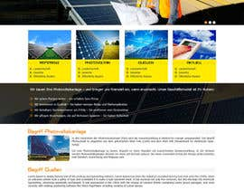 #17 para webdesign for photovoltaic company por princevenkat