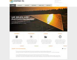 #10 para webdesign for photovoltaic company por xrevolation