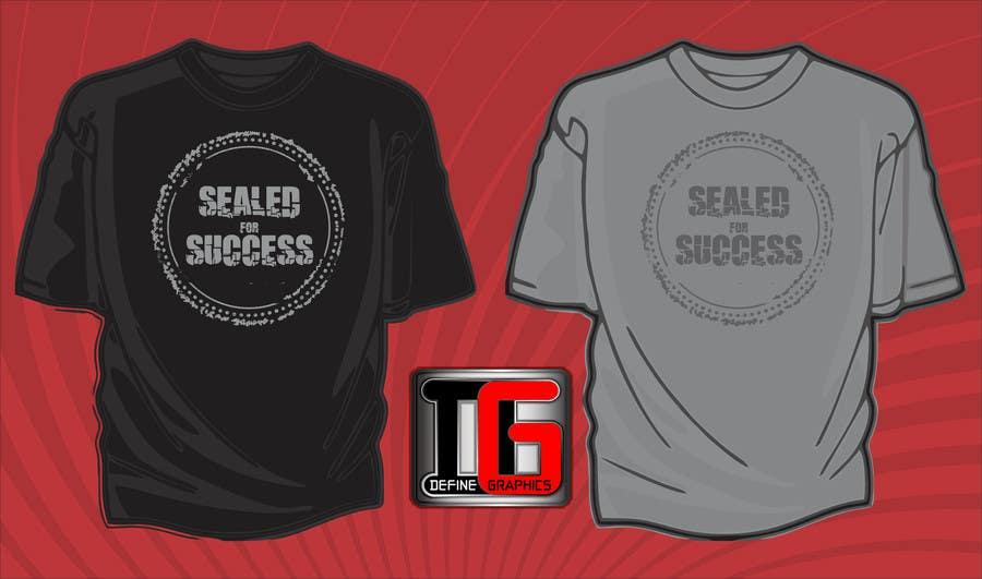Konkurrenceindlæg #16 for Design a T-Shirt for Motivation Business