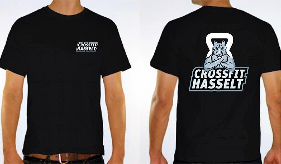 Kilpailutyö #117 kilpailussa Ontwerp een T-shirt for Crossfit Hasselt