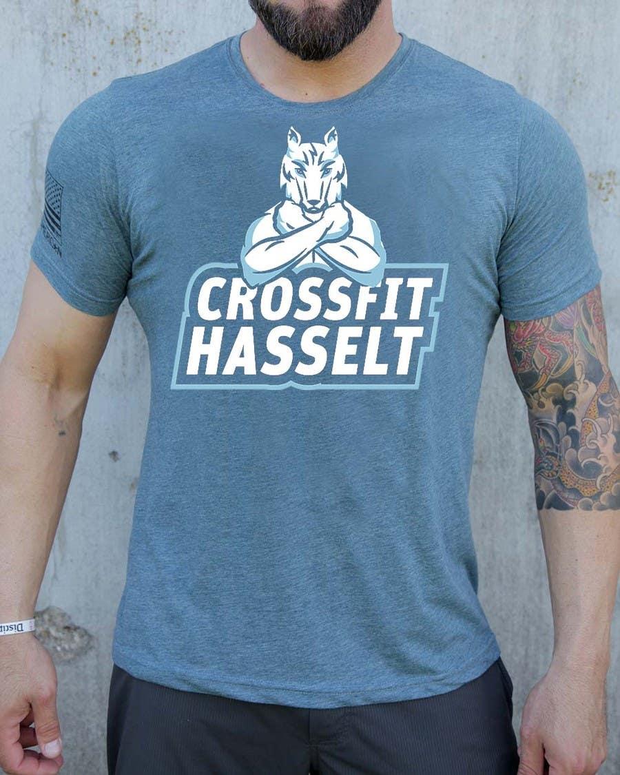 Kilpailutyö #15 kilpailussa Ontwerp een T-shirt for Crossfit Hasselt