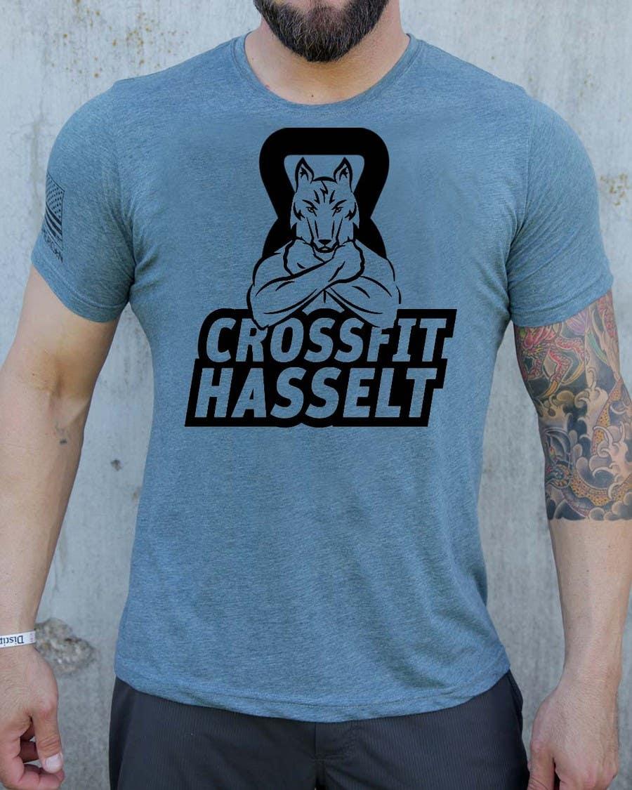 Kilpailutyö #40 kilpailussa Ontwerp een T-shirt for Crossfit Hasselt