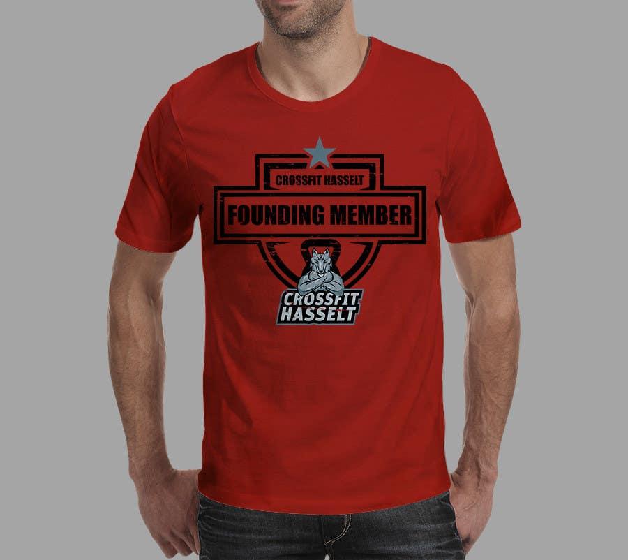 Bài tham dự cuộc thi #3 cho Ontwerp een T-shirt for Crossfit Hasselt founding members