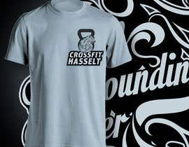 #34 untuk Ontwerp een T-shirt for Crossfit Hasselt founding members oleh aghits