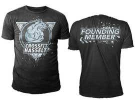 #23 untuk Ontwerp een T-shirt for Crossfit Hasselt founding members oleh novuz