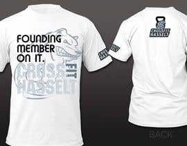 #27 for Ontwerp een T-shirt for Crossfit Hasselt founding members af pipo2draw