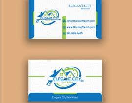 #202 สำหรับ business cards for my pressure cleaning business โดย mohsinhossin005
