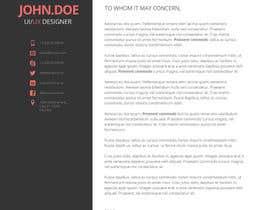 Nro 4 kilpailuun design Infographic CV käyttäjältä niloynil445