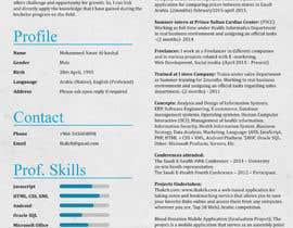 #34 cho design Infographic CV bởi BlueBlockDesign