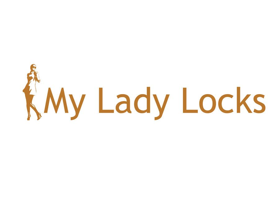 Contest Entry #                                        25                                      for                                         MyLadyLocks Logo