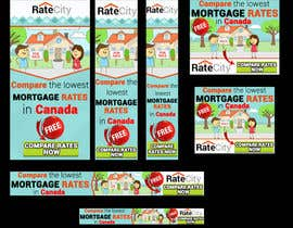 #17 untuk Design a complete set of Banners ads for a Mortgage comparison website oleh nguruzzdng