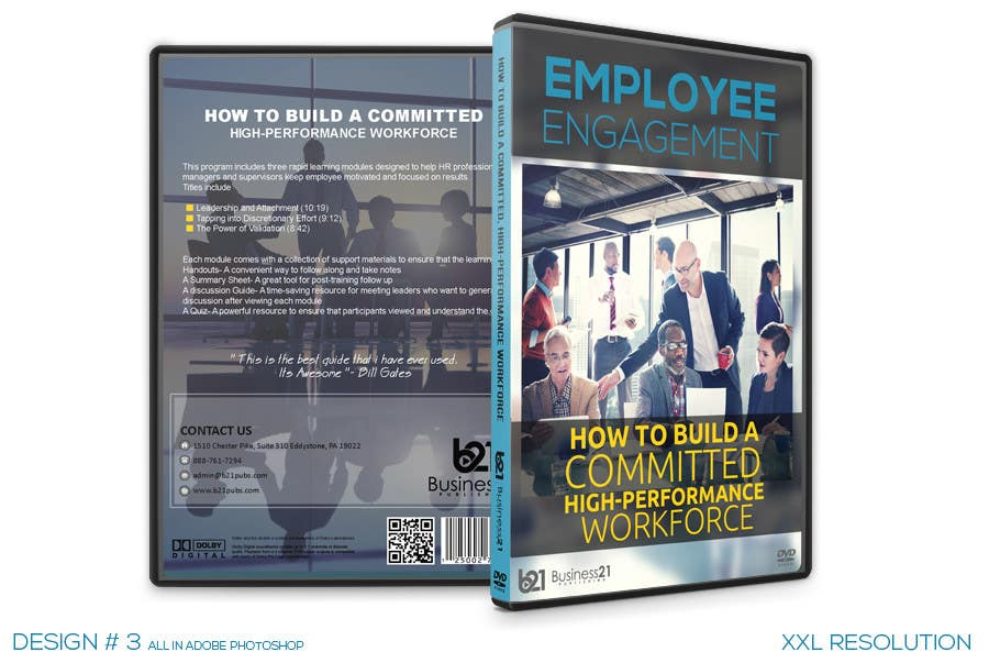 Contest Entry #                                        36                                      for                                         New Package Design for Training DVDs