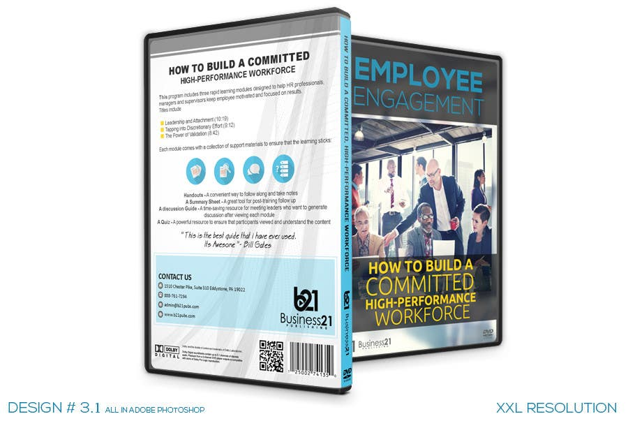 Contest Entry #                                        38                                      for                                         New Package Design for Training DVDs