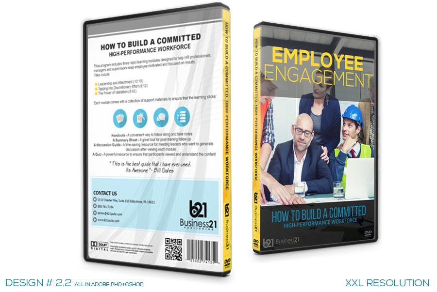 Contest Entry #                                        39                                      for                                         New Package Design for Training DVDs