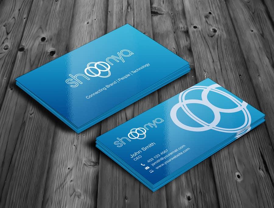 Konkurrenceindlæg #                                        4                                      for                                         Design some Business Cards for a creative/technology startup