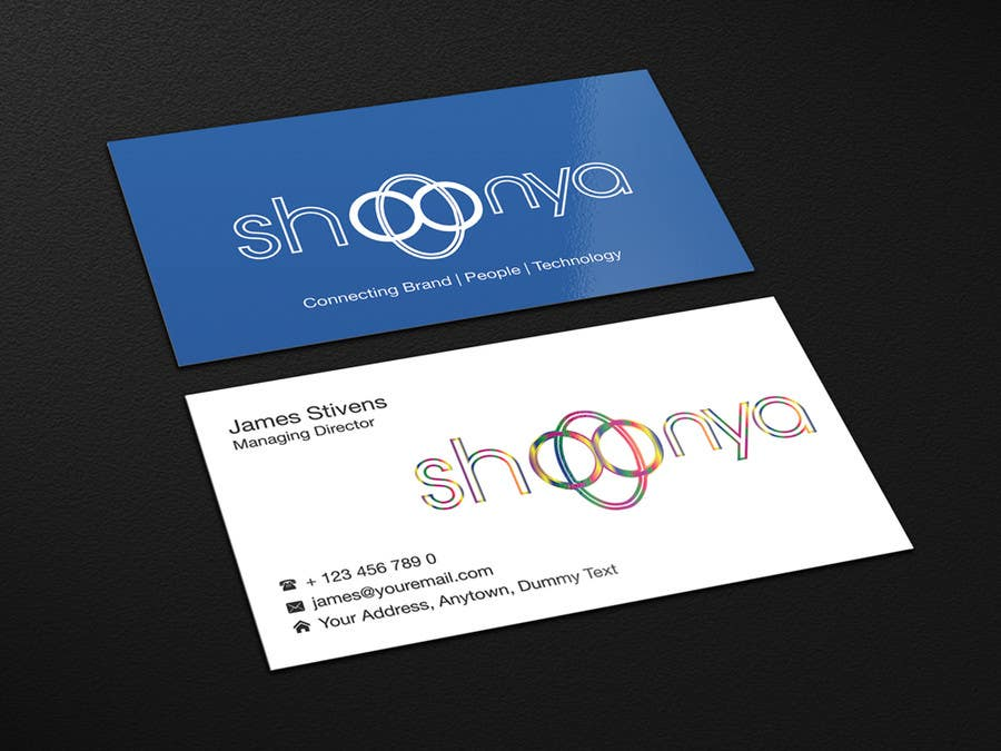 Contest Entry #                                        7                                      for                                         Design some Business Cards for a creative/technology startup