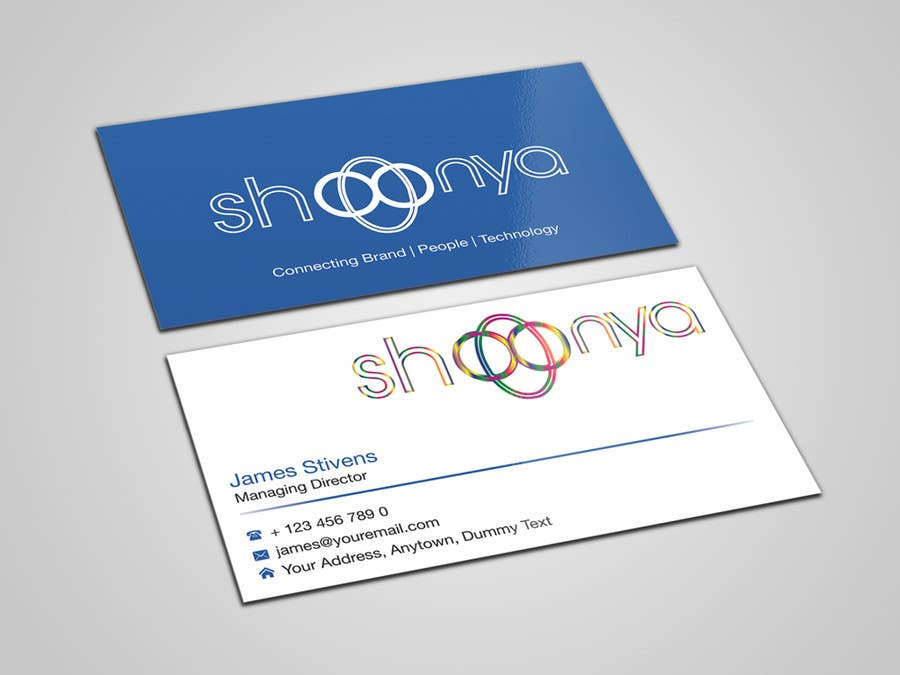 Entry 8 by flechero for design some business cards for a creative wasilisho la shindano 8 la design some business cards for a creativetechnology startup reheart Image collections