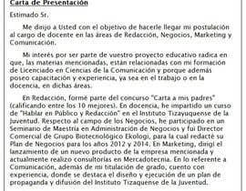 #6 cho Redactar 4 párrafos para vender perfil profesional bởi angellarrama