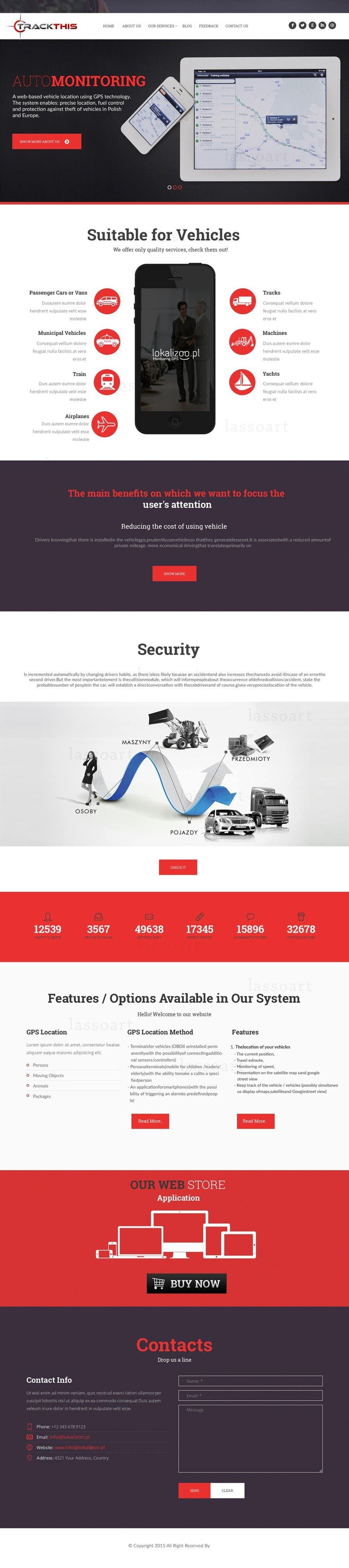 Kilpailutyö #8 kilpailussa Build a Website for TrackTHIS -- 2