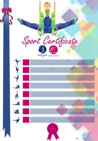 #12 for Design a Sport Certificate af grapple2013