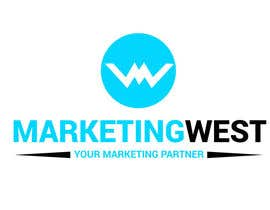 nº 12 pour Design a Logo for MarketingWest par MridhaRupok