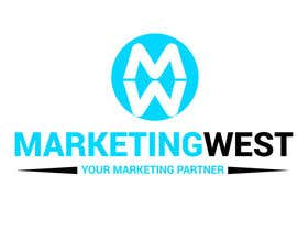 nº 13 pour Design a Logo for MarketingWest par MridhaRupok
