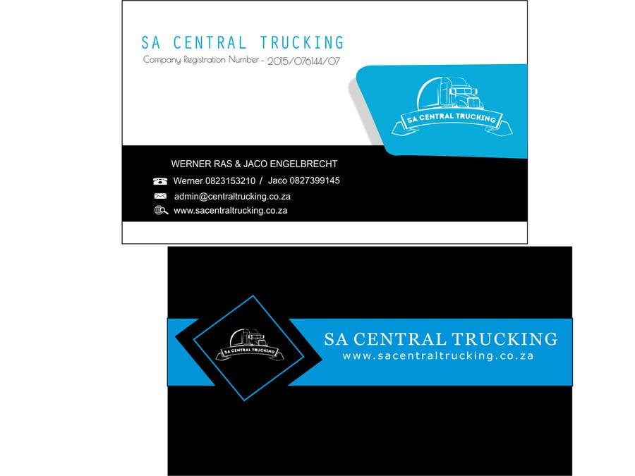Entry 6 by arindam1995 for design a letterhead and business cards contest entry 6 for design a letterhead and business cards for a trucking company colourmoves