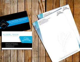 #8 untuk Design a letterhead and business cards for a trucking company oleh Arindam1995
